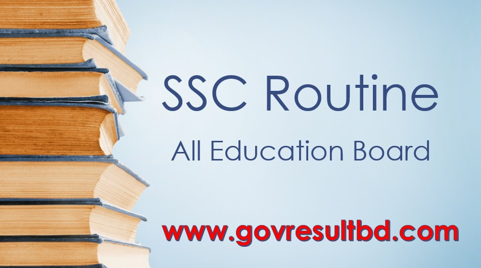 SSC Routine