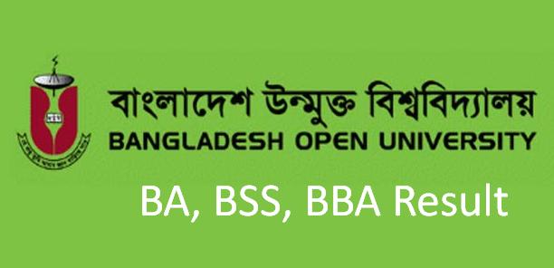 BA, BSS & BBA Result