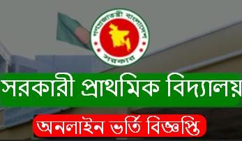 Govt Primary School Admission