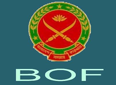 Bangladesh Ordnance Factories (BOF) Job Circular March 2017