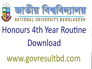 NU Honours 4th Year Routine 2017