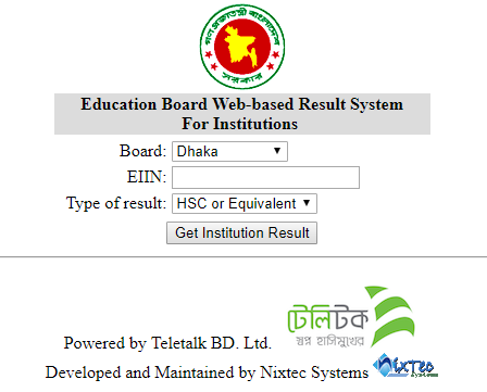 Institute wise JSC Result 2018 by EIIN Number