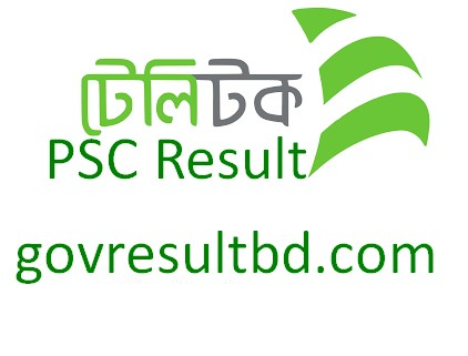 PSC Result by Teletalk