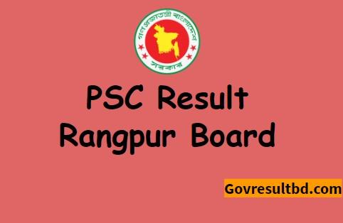 Rangpur Board PSC Result