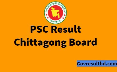 chittagong board psc result