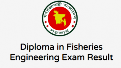 Diploma in Fisheries Semester Final Result