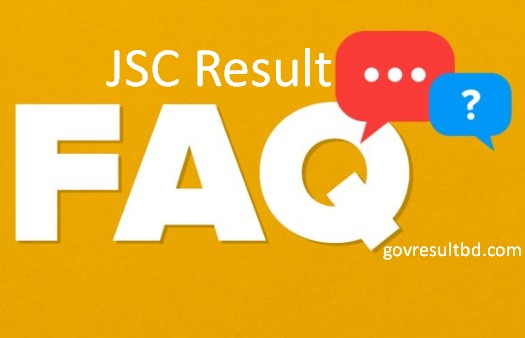 Frequently Asked Questions - JSC Result