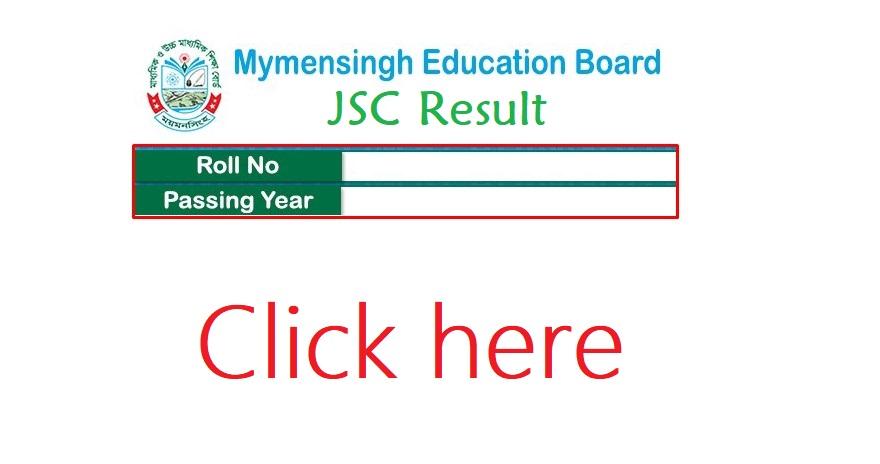 JSC Result Mymensingh Board