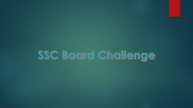 SSC Board Challenge