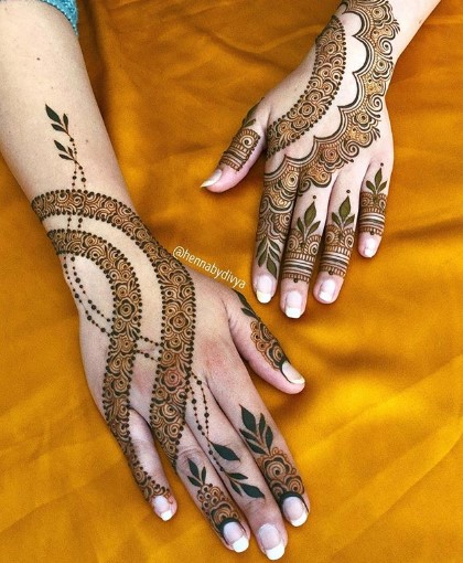 Eid al-Fitr 2020 mehndi designs (Unique)