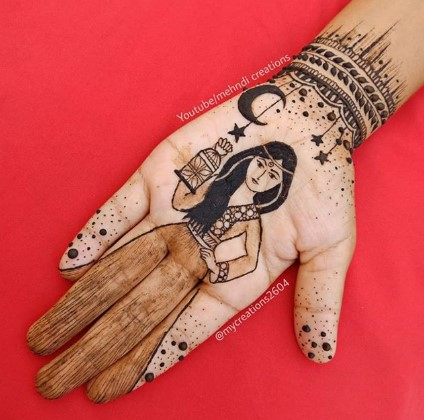 Happy Eid al-Fitr 2020 mehndi designs