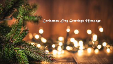 Christmas Day Greetings Message