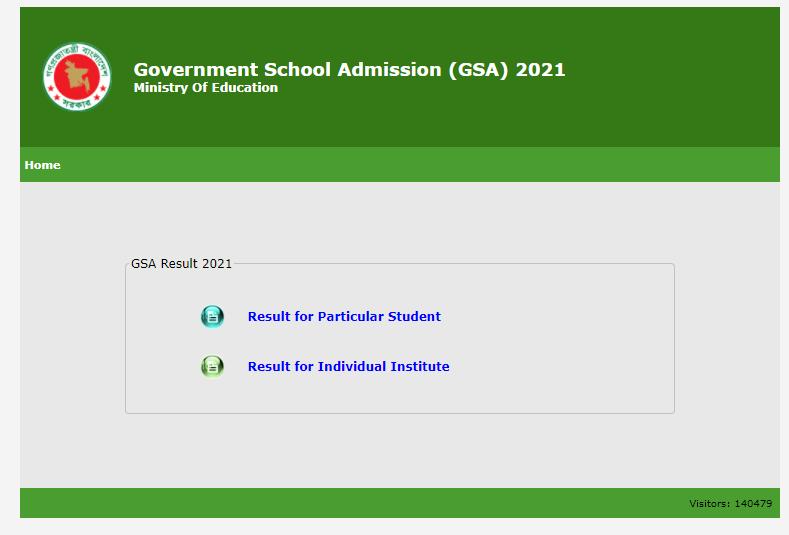 GSA Result Page