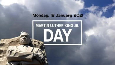 Martin Luther King Jr Day 2021