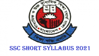 SSC Short Syllabus 2021