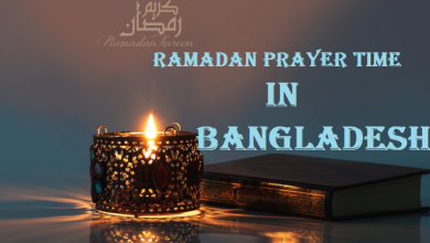 Ramadan Prayer Time in Bangladesh