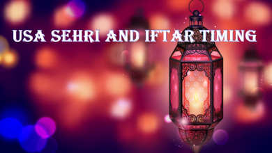 USA Sehri and Iftar Timing