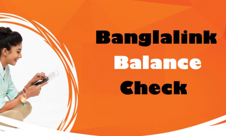 Banglalink Balance Check bl