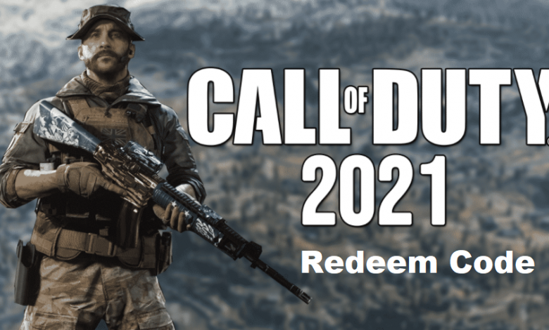 Call of Duty Redeem Code