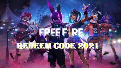 Free Fire Redeem Code 2021