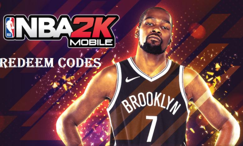 NBA 2K Mobile Redeem Codes