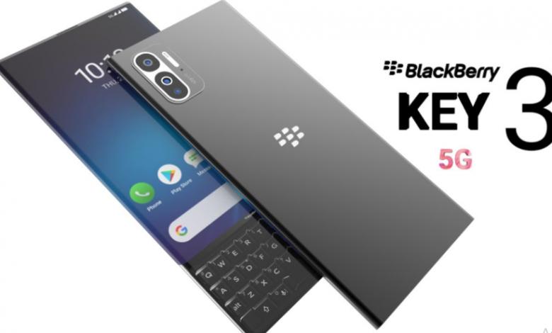 Blackberry Key3 5G